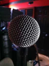 Lead singer's eye view