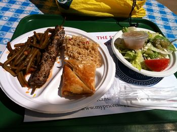 Yummy food from Greek Fest in KC