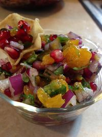 Pomegranate Salsa