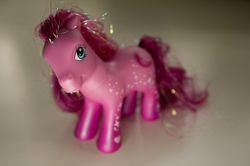 I turned the color of this pony. I'm not even kidding.