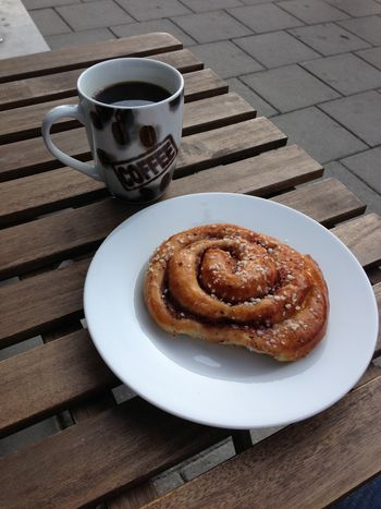 Last coffee and pastry breakfast of the trip