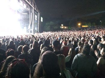 Crowd at Uproar Festival for Godsmack