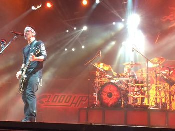 Sully Erna and Shannon Larkin of Godsmack