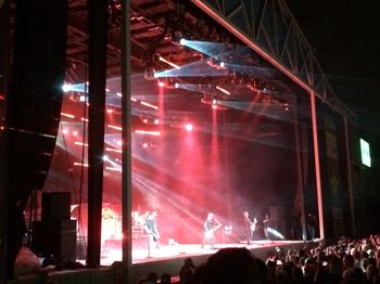 Godsmack on stage at Uproar Festival